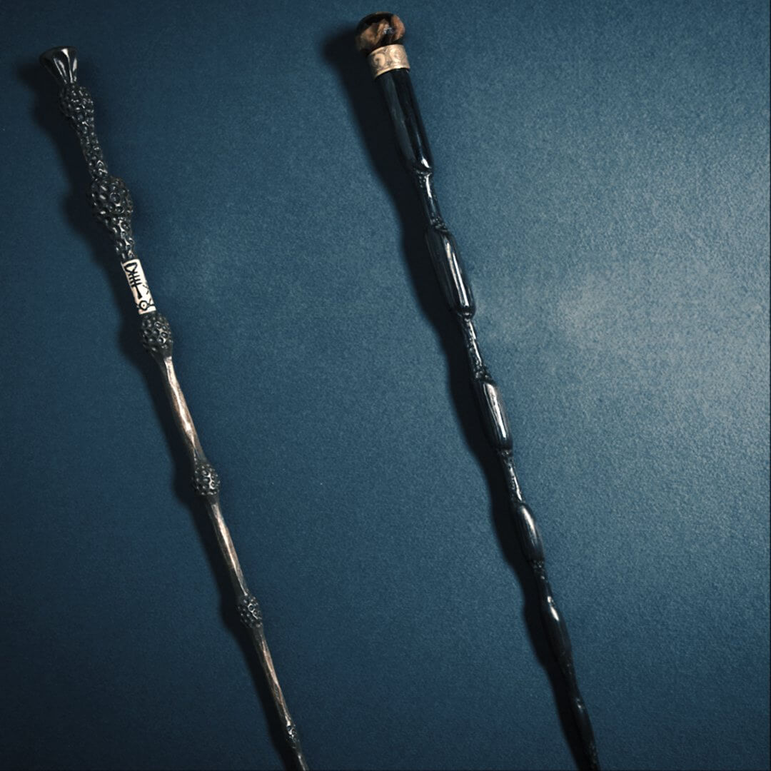 Photo teaser image for fantastic beasts 2 may offer for Dumbledore with wand