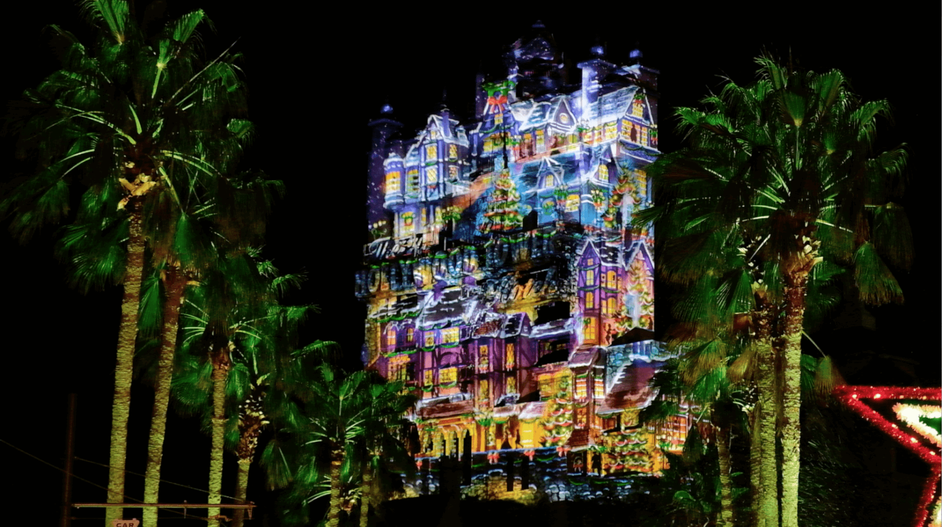 VIDEO Disneys Hollywood Studios previews new projection show