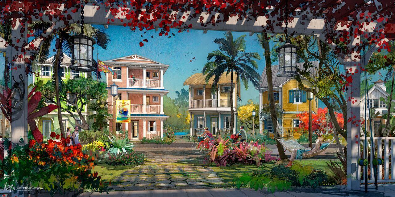 Photo Margaritaville Resort Orlando Reveals New Rendering