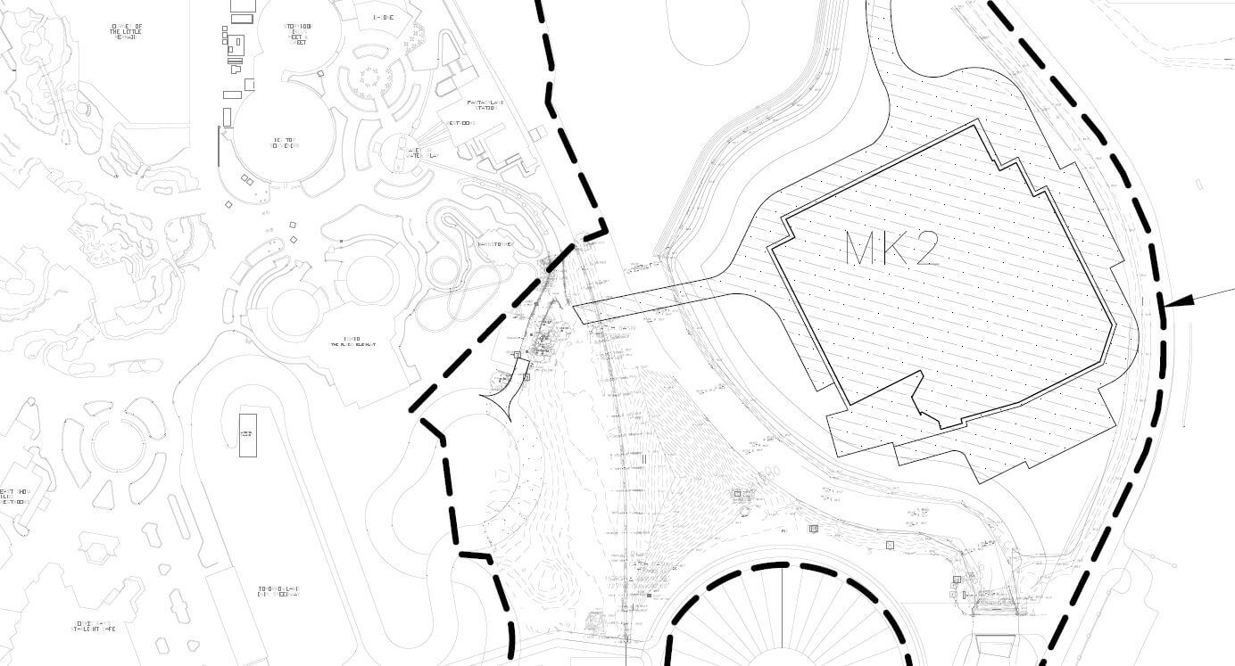 Walt disney world files first permit for tron coaster revealing the tron attraction which was announced at d23 expo 2017 is expected to open in time for walt disney worlds 50th anniversary in 2021 gumiabroncs Choice Image