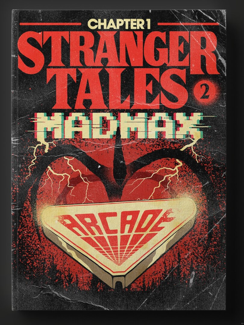 PHOTOS Stranger Things Inspires Awesomely 80s Book