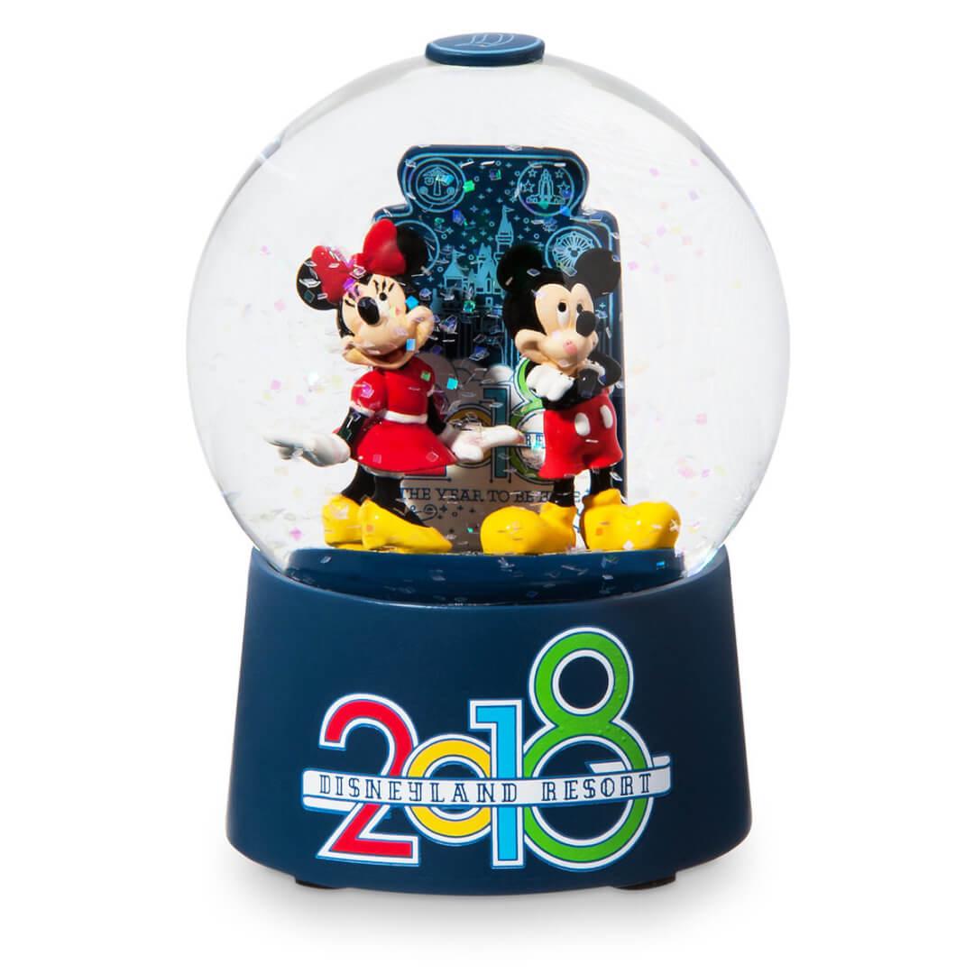 NEW Disney Parks Walt Disney World Mickey /& Friends Icon Glitter Snowglobe