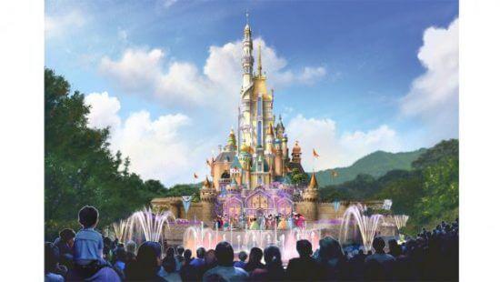 PHOTO: Hong Kong Disneyland reveals details of new Disney Princess-themed castle