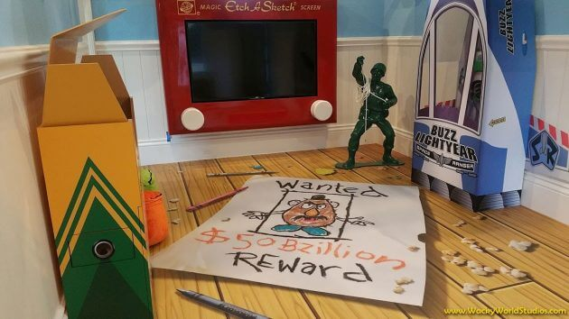 Disney Themed Rooms Inspired By Toy Story Star Wars And