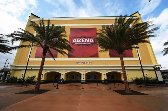 VIDEO: The Arena hosts its grand opening at Walt Disney World's ESPN Wide World of Sports Complex