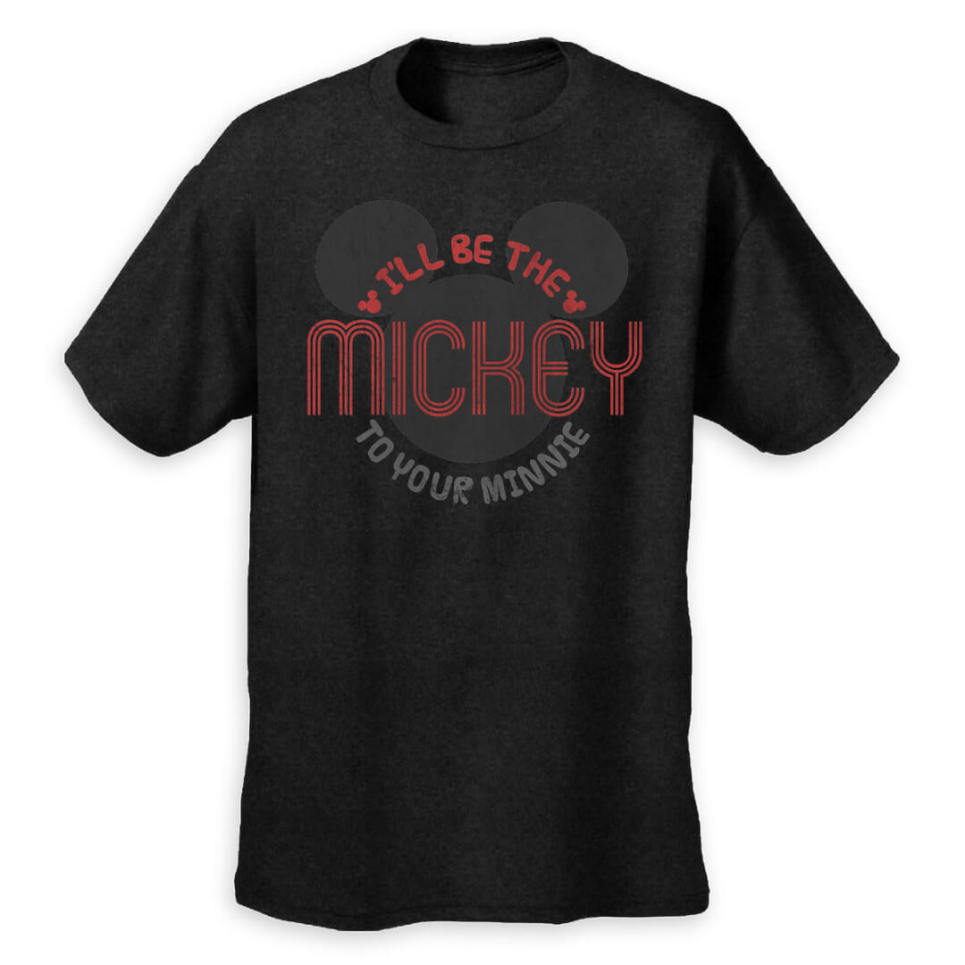 let your special someone know youll be their valentine with this sweet mickey mouse t shirt 2995 the tee features distressed screen art