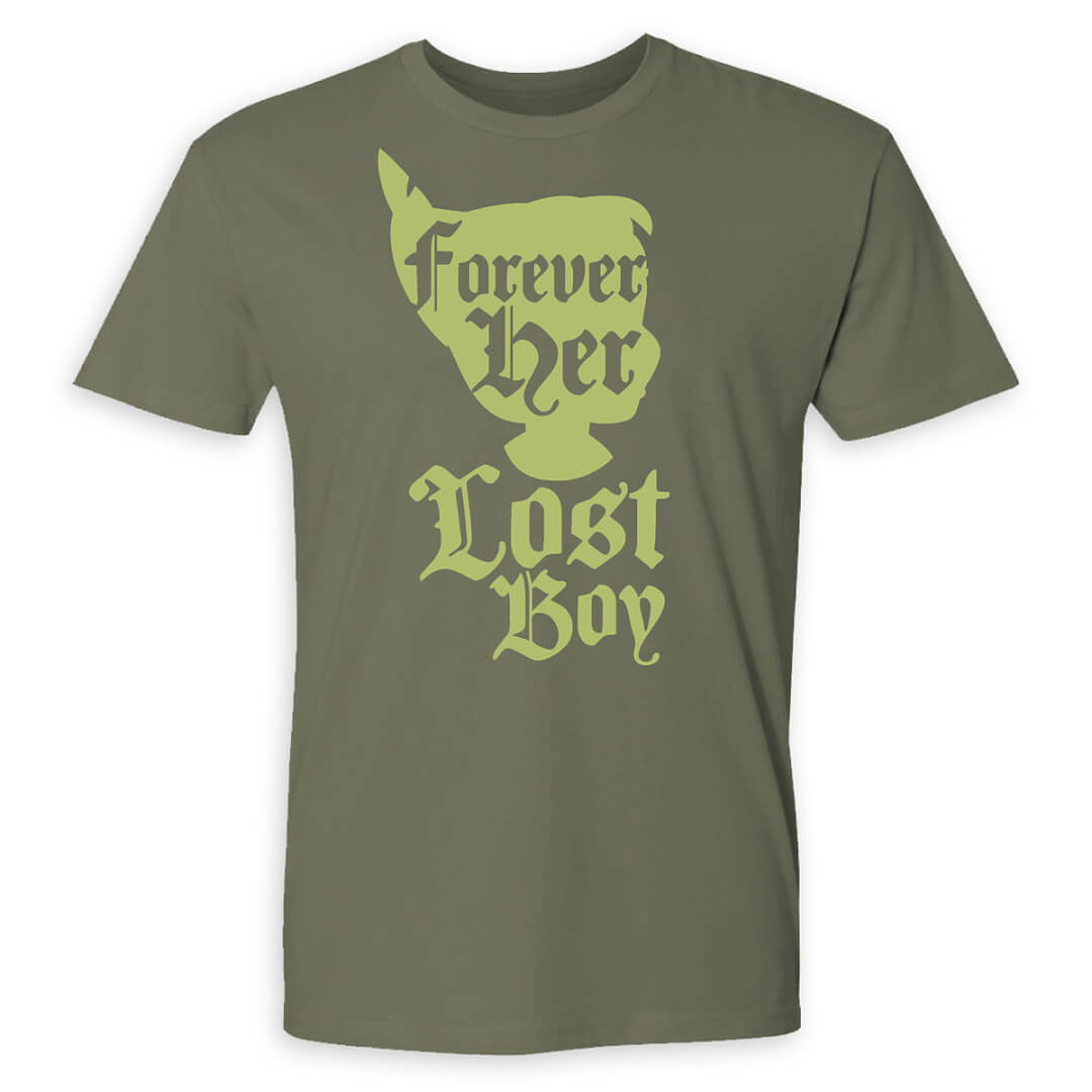 continuing the peter pan theme this t shirt 2995 pairs with the tinker bell tee above highlighting the magic between peter pan and tinker bell