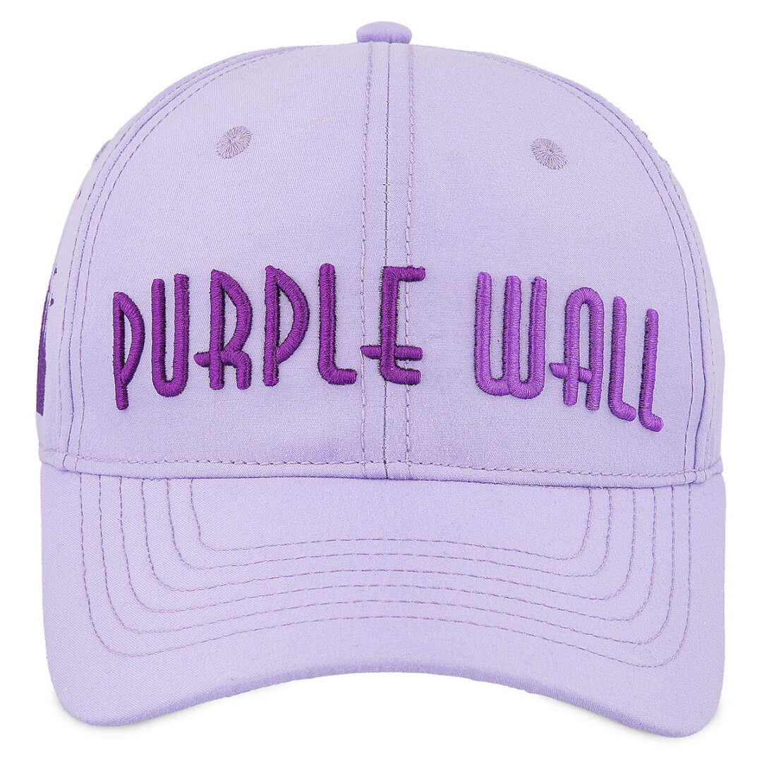 """Instagram aficionados who know where to take the best selfies at Walt Disney  World will love this """"Meet Me at the Purple Wall"""" Baseball Cap ( 21.99). e5a456e0cc5"""