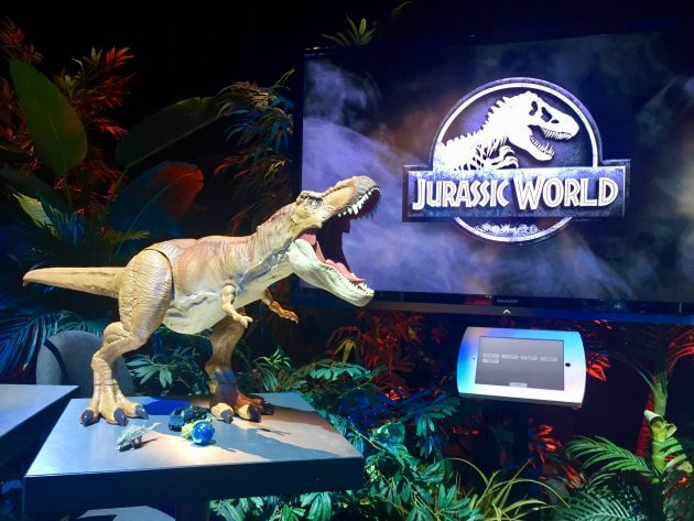 Coolest Toy In The World : Toy fair the coolest new quot jurassic world disney
