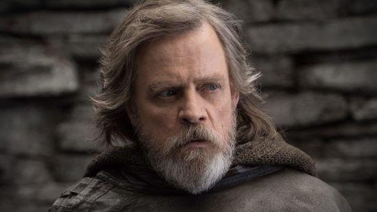 Hamill as Luke Skywalker
