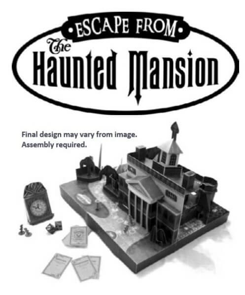 Escape from the Haunted Mansion Board Game