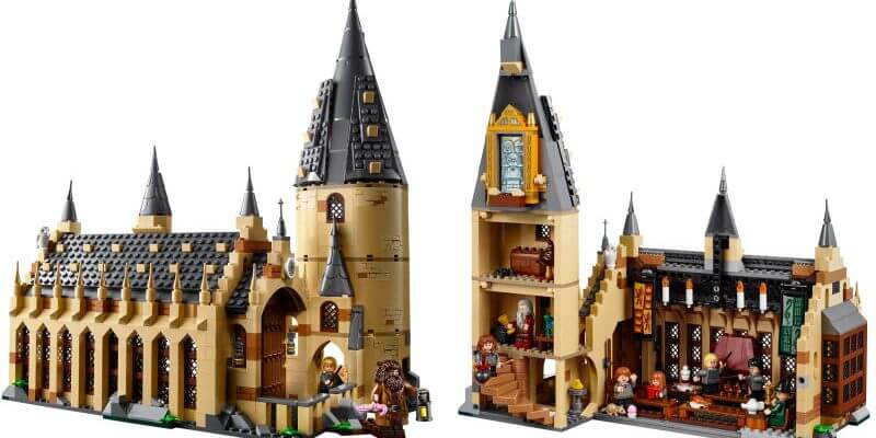 New Quot Harry Potter Quot Hogwarts Great Hall Lego Set Announced