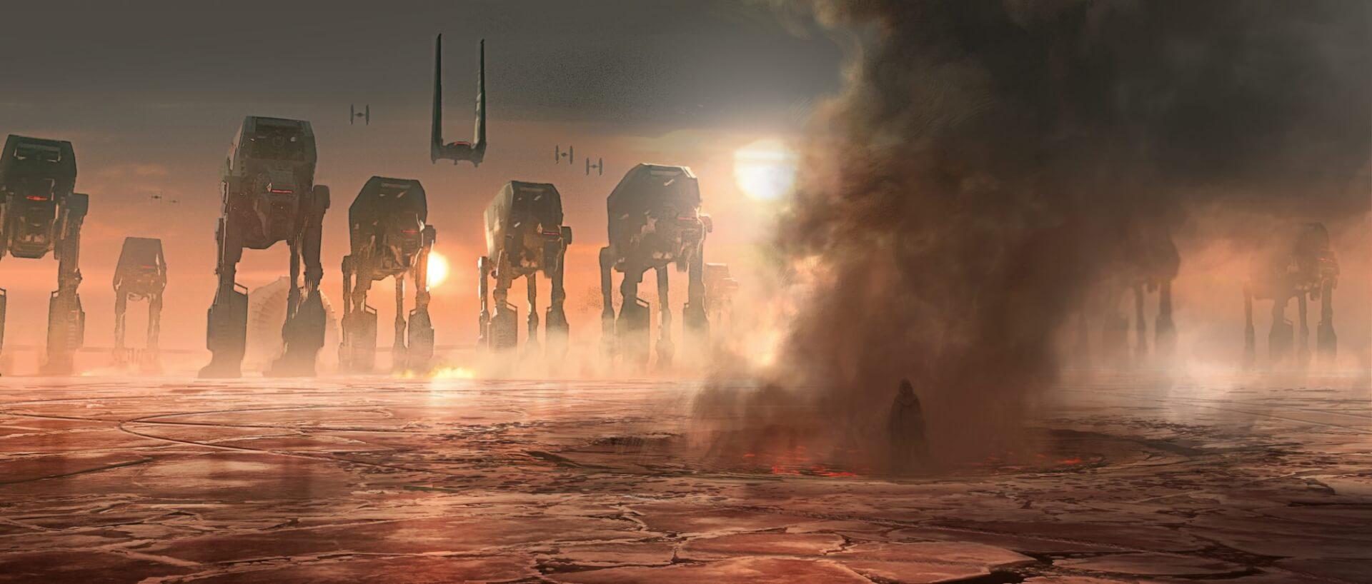 Star Wars The Last Jedi Concept Art