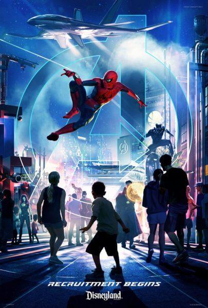 Spider-Man Attraction coming to Disney California Adventure