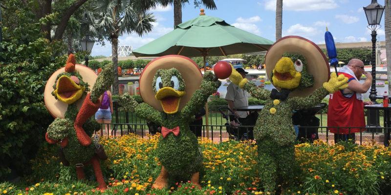 Three Caballeros at Epcot