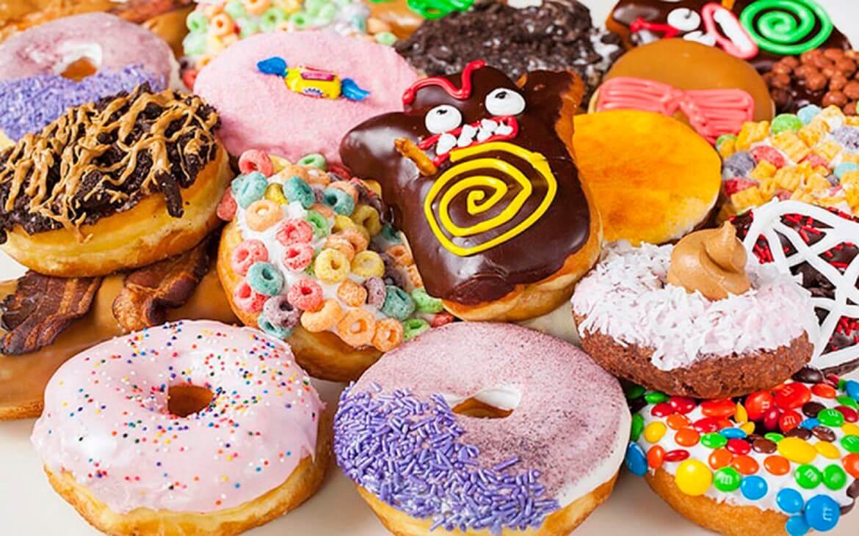 Dunkin Donut Hot Dog