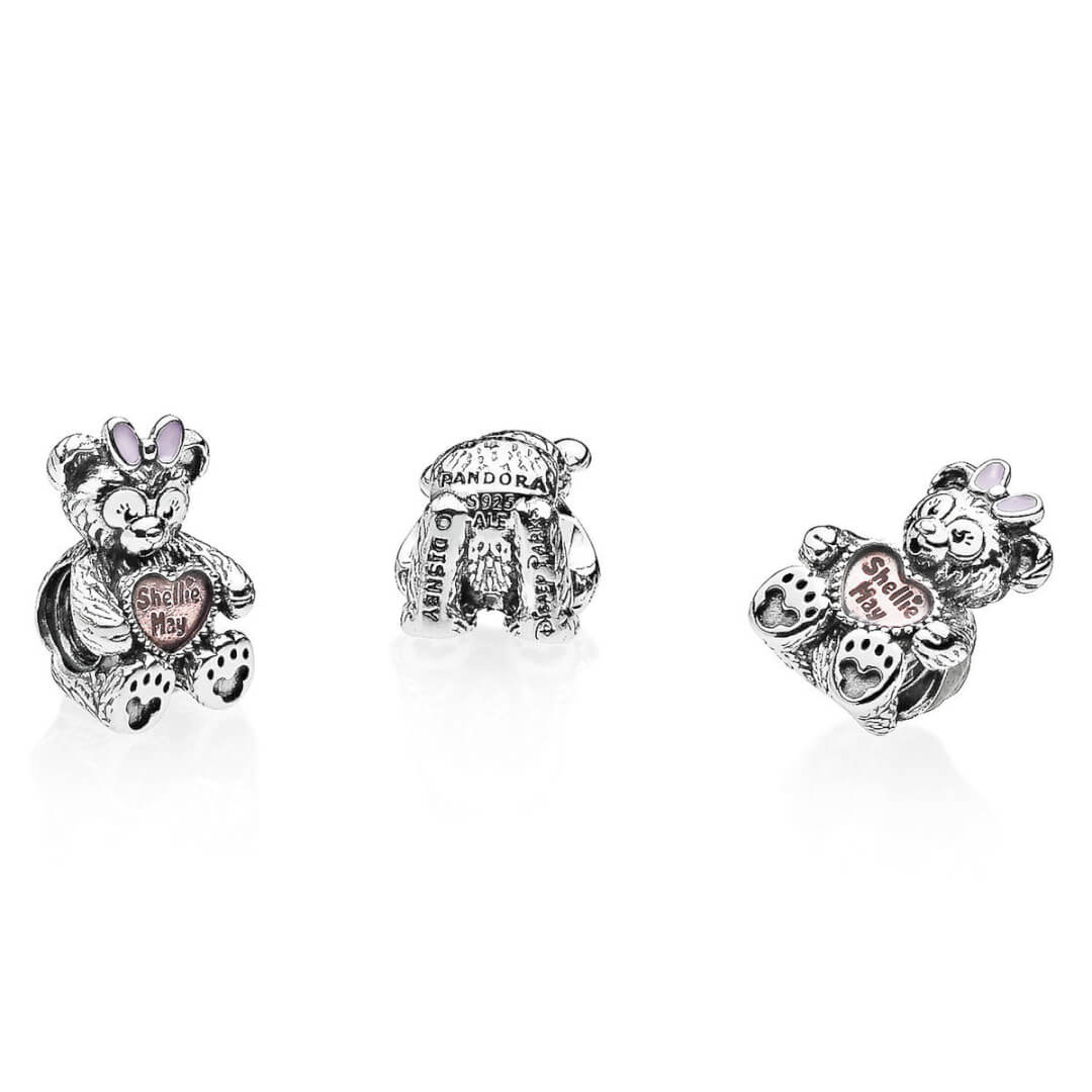 0188f3971 ShellieMay makes an adorable addition to your PANDORA bracelet with this  Charm ($70). The sterling silver figural design of the Disney bear includes  a ...
