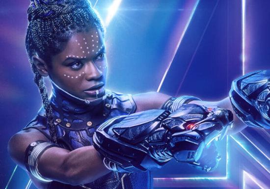 Letitia Wright as Princess Shuri Black Panther Avenger Endgame