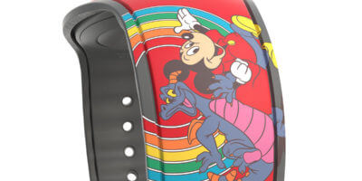 Mickey Mouse and Figment MagicBand
