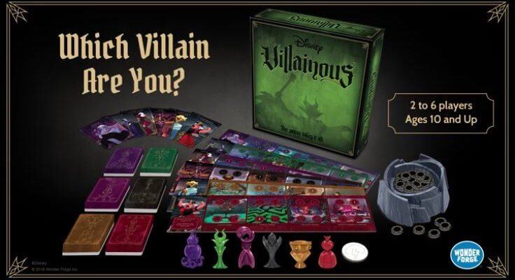 Disney Board Games Villainous