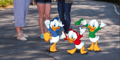 Huey, Dewey, and Louie Magic Shot