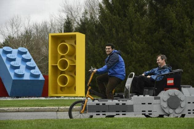 LEGO Star Wars Millennium Falcon Pedicab