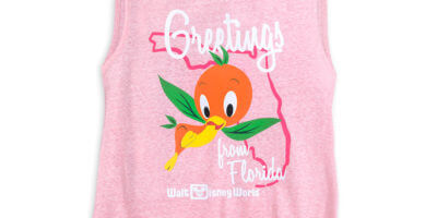 Orange Bird Tank Top