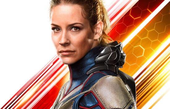 Evangeline Lilly as Hope Van Dyne aka Wasp Antman posters