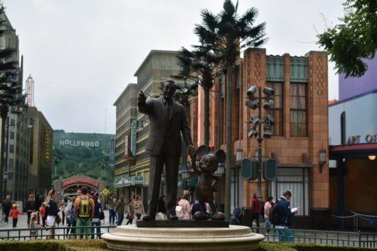 Walt & Mickey Statue in Paris