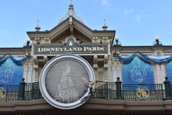 Disneyland Paris 25th Anniversary Entrance Sign