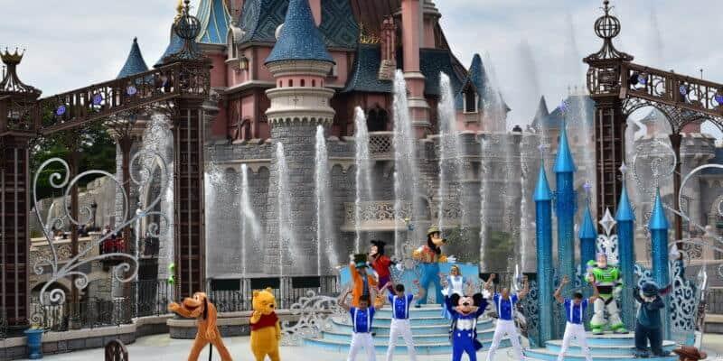 Sleeping Beauty Castle Stage
