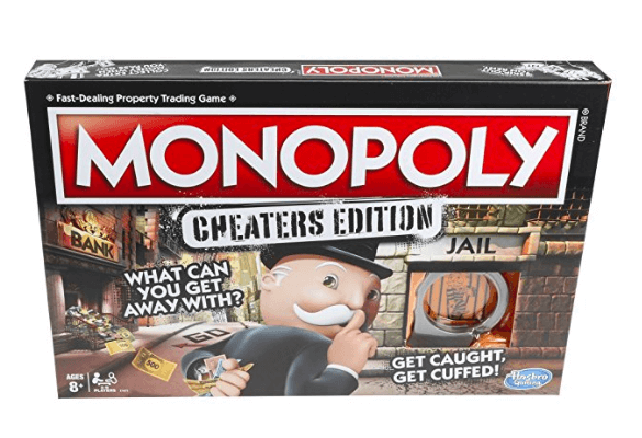 Monopoly: Cheaters