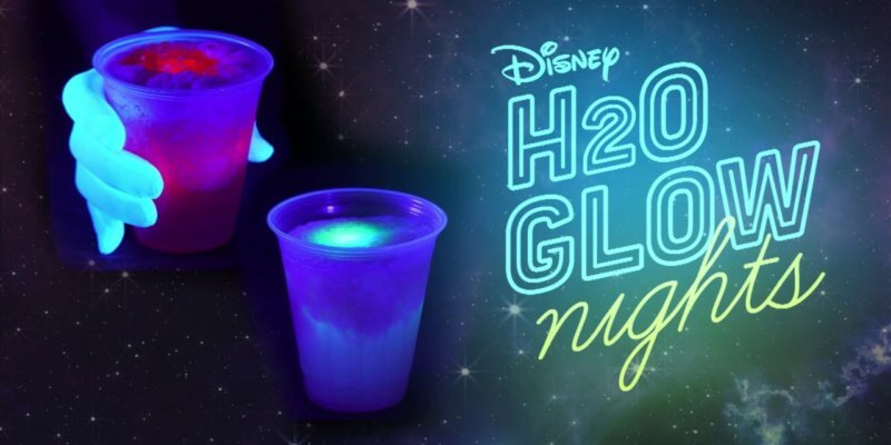 glowing cocktails