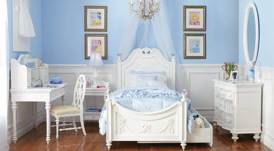 Disney Themed Bedroom Sets, Disney Princess Bedroom Furniture Sets