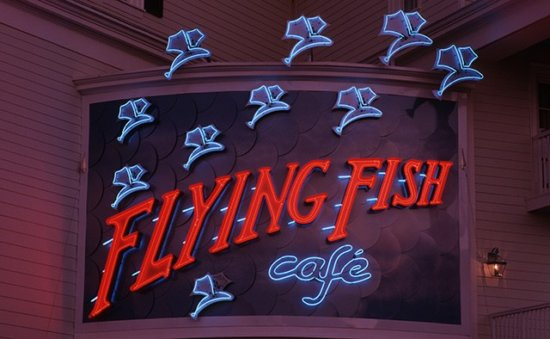 Flying Fish exterior sign
