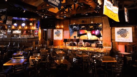 Interior of Jelly Rolls on Disney's Boardwalk