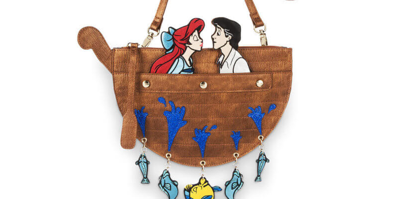 little mermaid crossbody bag