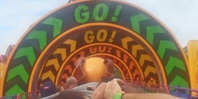 Slinky Dog Dash daytime POV