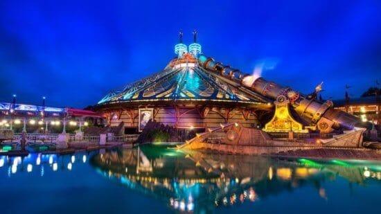 Space Mountain, Disneyland Paris