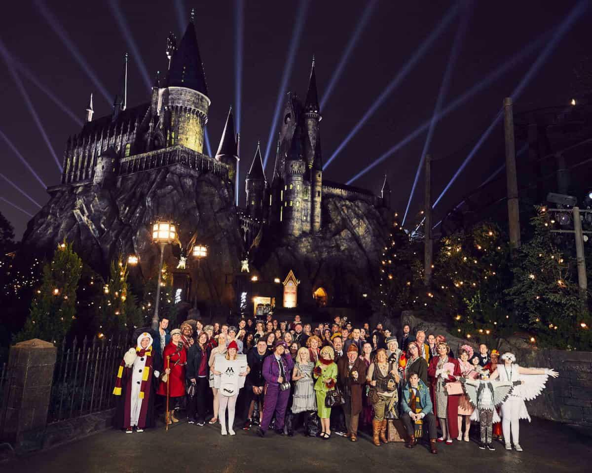 Back to Hogwarts: A Social Media Fan Meet-Up