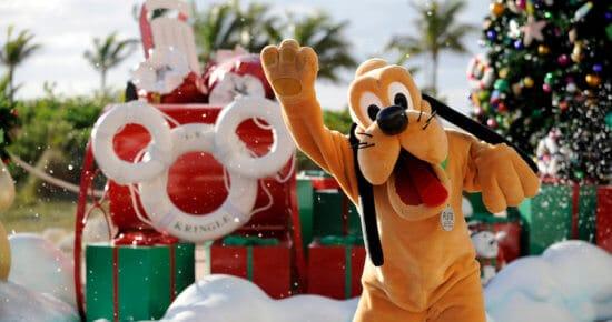 Pluto on Castaway Cay