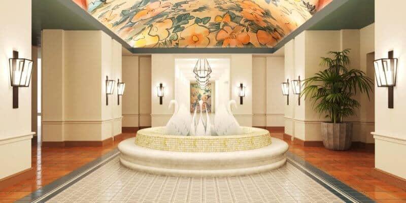 Swan Resort lobby