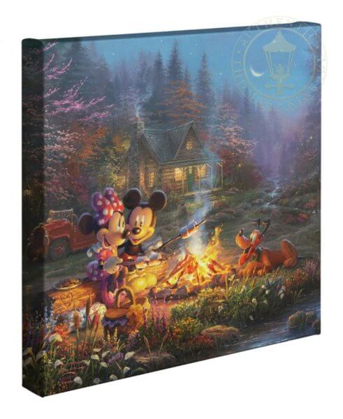 Mickey & Minnie Sweetheart Campfire