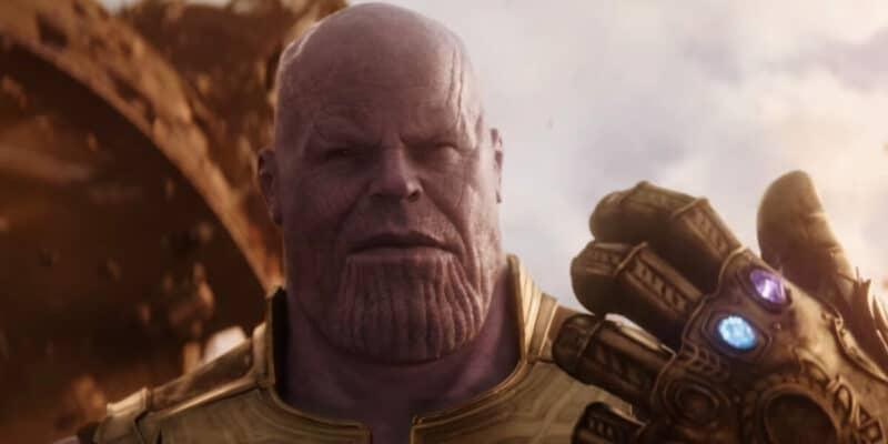 josh brolin as thanos the mad titan in avengers infinity war