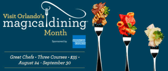 Magical Dining Month 2018