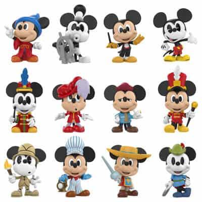 Mickey's 90th Mini Vinyl Figures