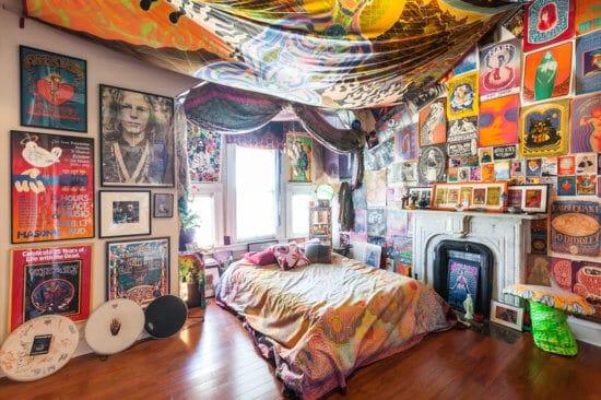 Westerfield Mansion Jerry Garcia bedroom
