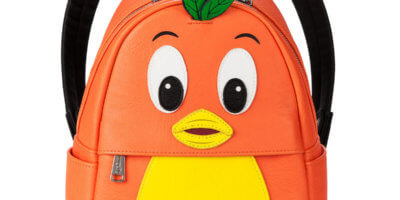 Orange Bird Mini Backpack