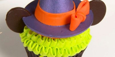Minnie Mouse Witch cupcake