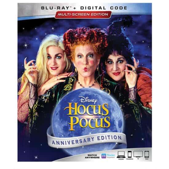 Hocus Pocus 25th anniversary DVD